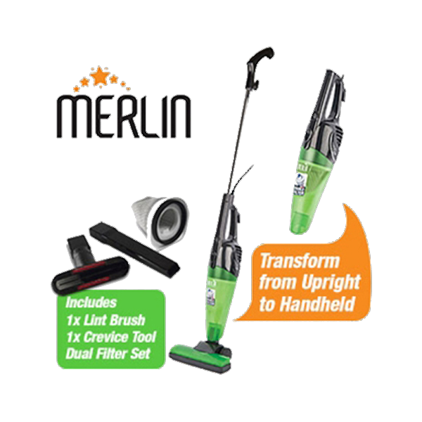 Green Merlin Mini Vacuum Cleaner