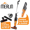 Merlin Mini Vacuum Gold