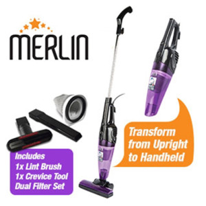 Mini Vacuum Cleaner Purple